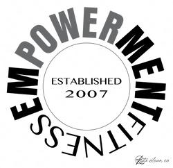 Empowerment Fitness - Secondary Logo - GREY.png