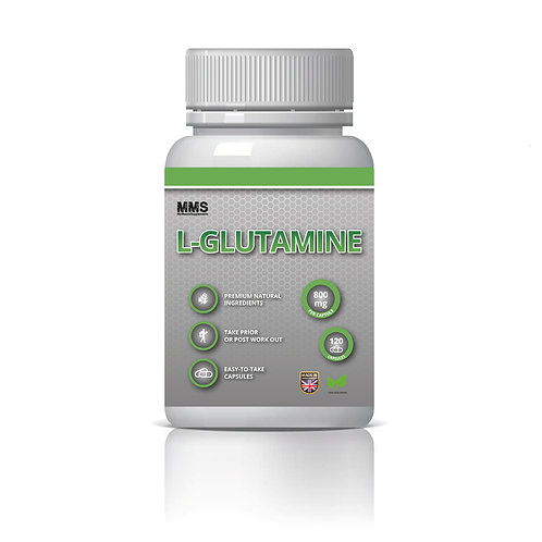 L-Glutamine 800mg Amino Acids Post Workout Recovery - Vegetarian