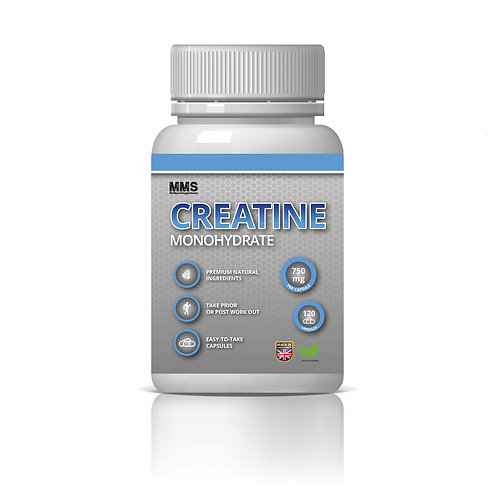 Creatine Monohydrate  750 mg Muscle Gain Strength Booster