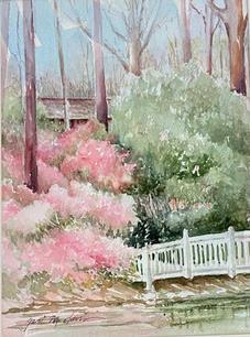 Bridge Garden by Geri Davis