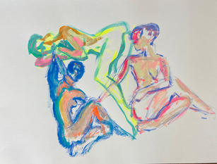 Figure Studies by Gloria Mani