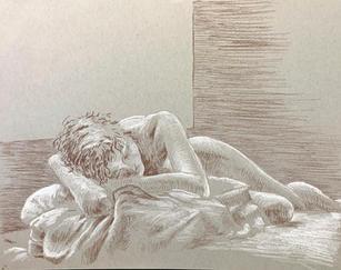 Figure Study by Orion Wertz