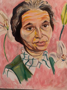 Rosa Parks by Howard Willis