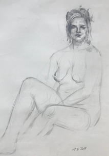 Figure Study by Yuri Totskiy