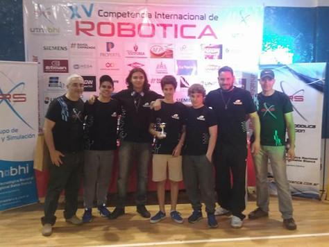 Participación en la competencia internacional de Bahía Blanca