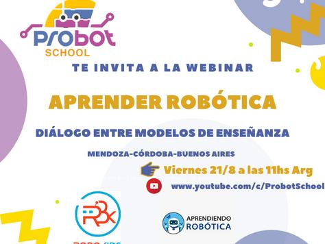 Webinar: Aprender robótica. Modelos de enseñanza