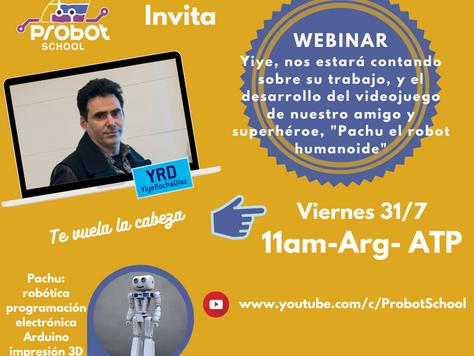 Webinar con Yiye Rocha Díaz