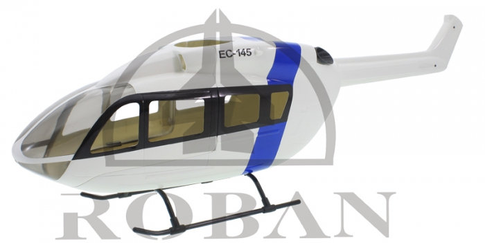 450 EC-145 white blue