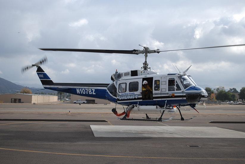 800 UH-1D ARF San Diego Police