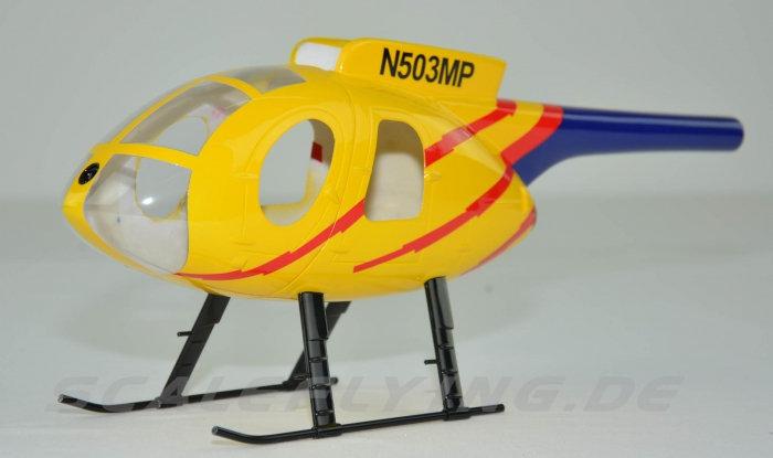 250 size MD500E yellow blue