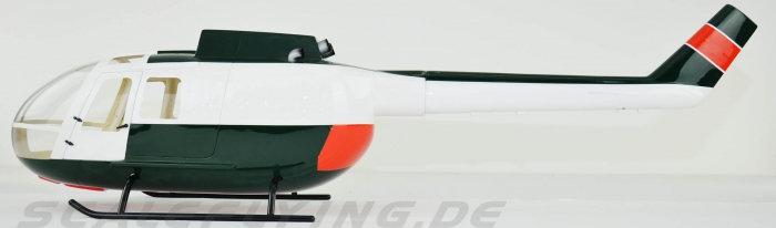 600 BO-105 Police Green
