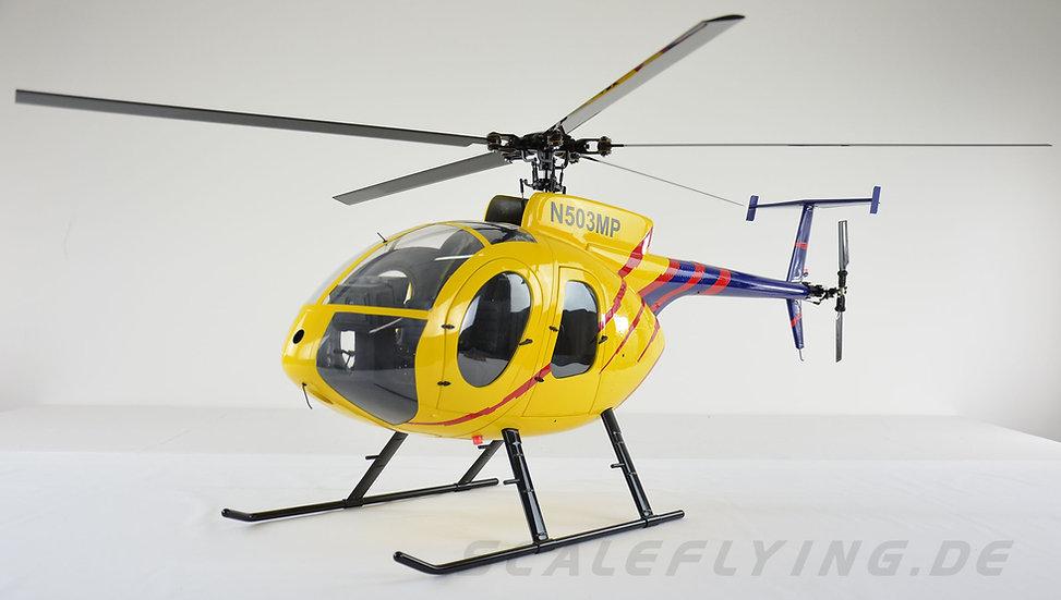 MD500E ARF Yellow Blue