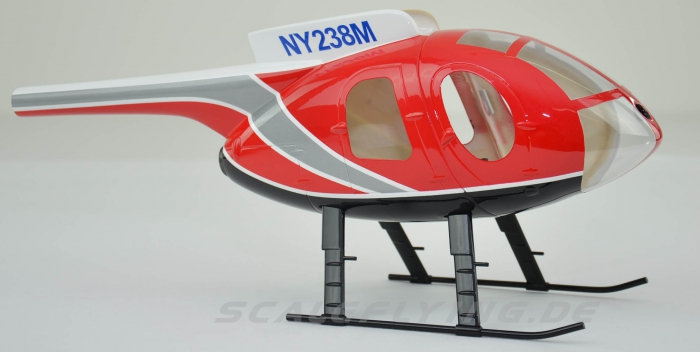 250 size MD500E police red