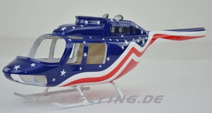 450 B206 Jet Ranger 206 Stars & Stripes