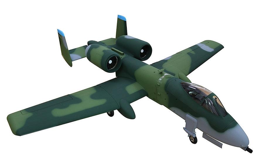"""A-10 82"""" ARF Green Camo"""