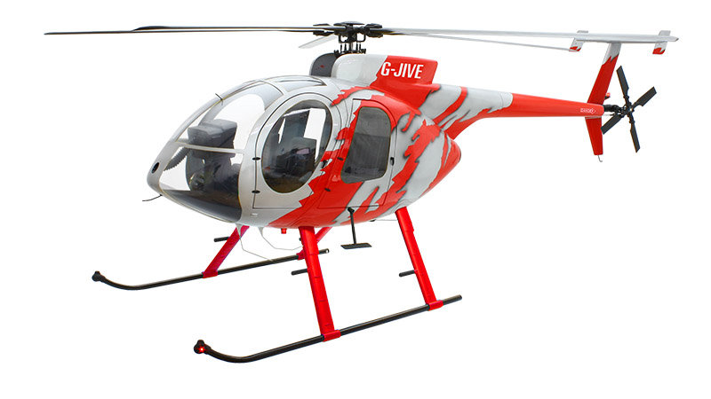 800 MD-500E ARF G-JIVE Red