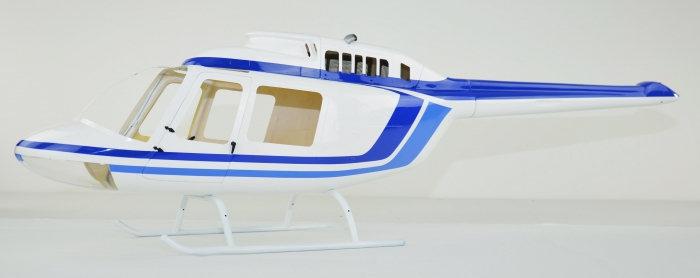 700 B206 White Blue