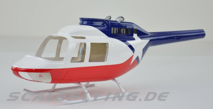 450 B206 Jet Ranger News Chopper