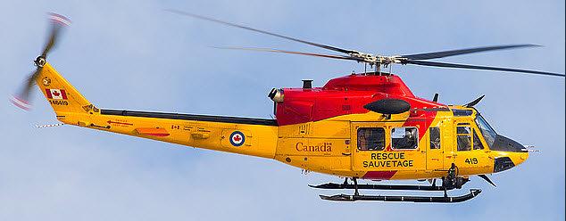 800 B 412 ARF Canadian Rescue