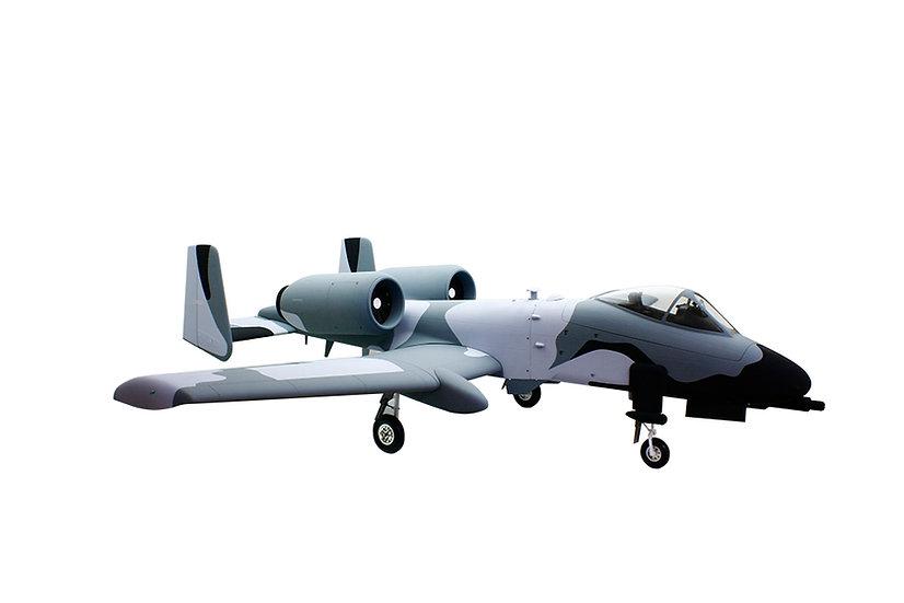 """A-10 82"""" ARF Snow Camo"""