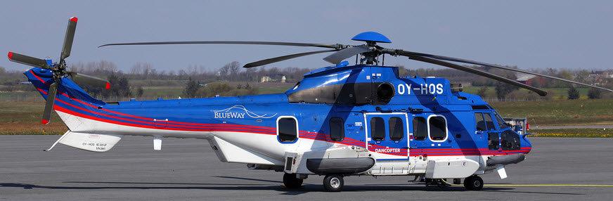 800 EC-225 ARF Super Puma Dancopter