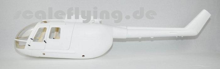 600 BO-105 Gelcoat White