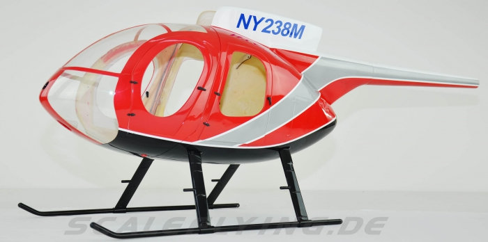 700 MD-500E Police Red