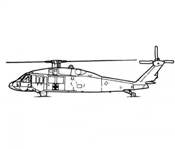 600 UH-60 White Gelcoat