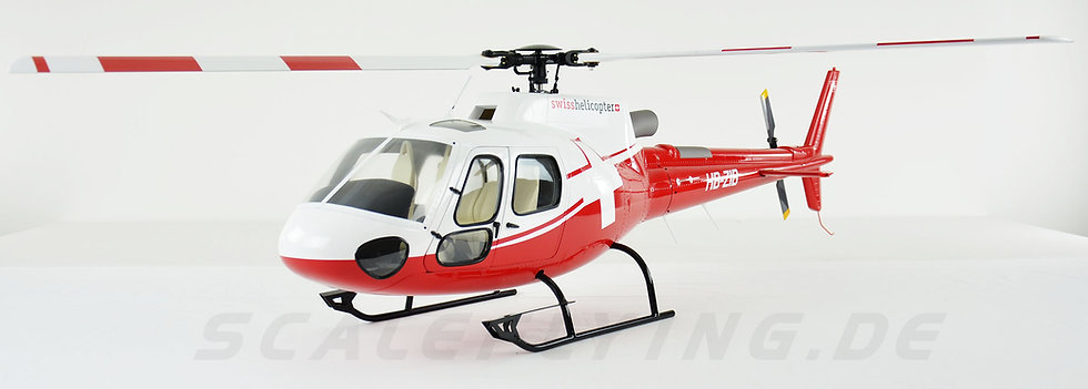 600 AS-350 ARF Swiss Helicopter