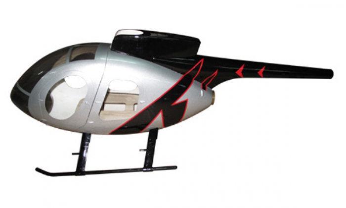 600 MD500-E Silver Black