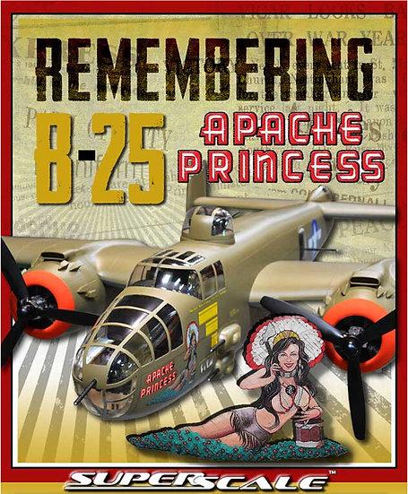 """B-25J 82"""" ARF Apache Princess"""
