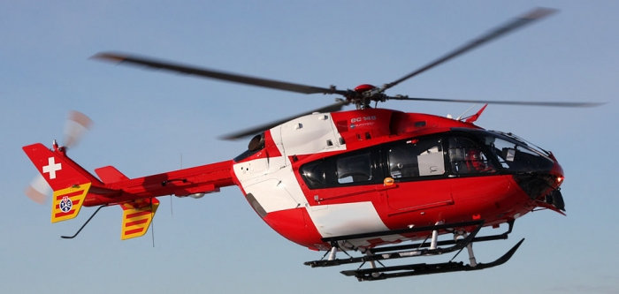600 EC-145 Red White