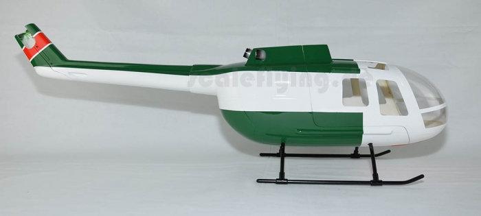 450 BO-105 Police Green