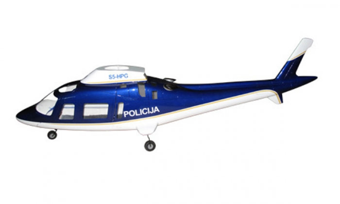 500 A-109 White Blue