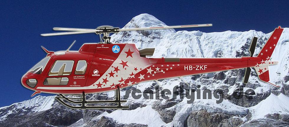 600 AS-350 ARF Air Zermatt
