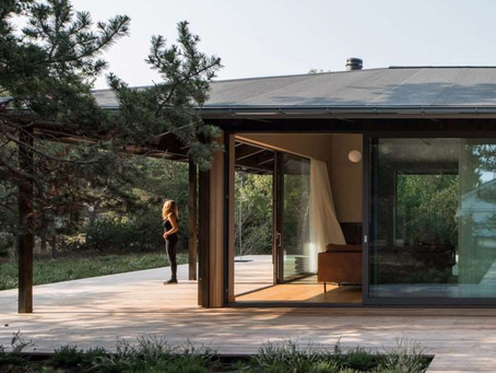 Johan Sundberg completes Swedish holiday home that takes cues from Japanese architecture