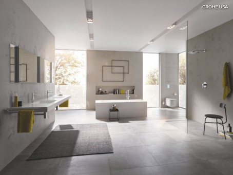 How to Create a Luxe, Minimalist Hotel Bathroom at Home
