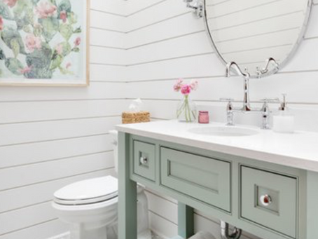 The 10 Most Popular Powder Rooms Right Now