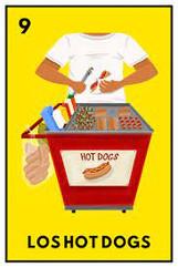 Los Hot Dogs by Valeria Olguin