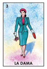 "La dama (""the lady"") by Don Clemente"