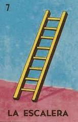 La Escalera (the ladder) by Don Clemente