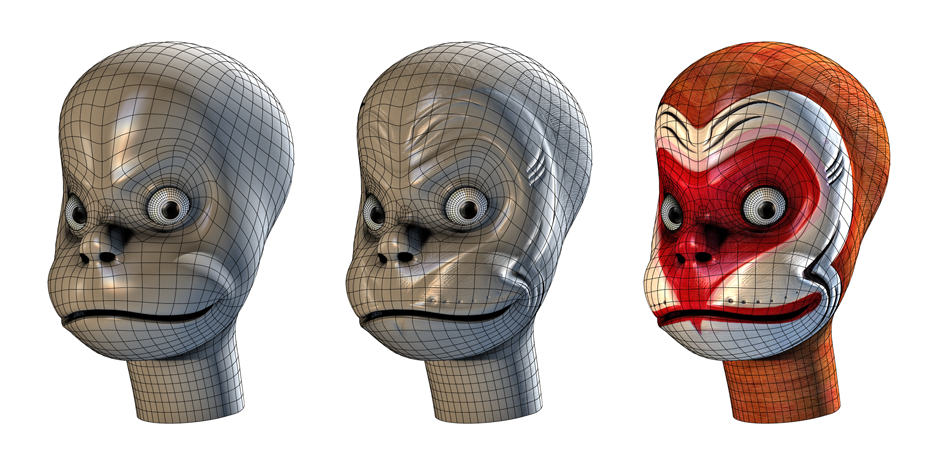 Head development for the Monkey King