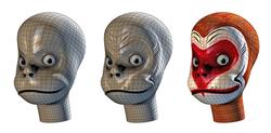 Head development for the Monkey King