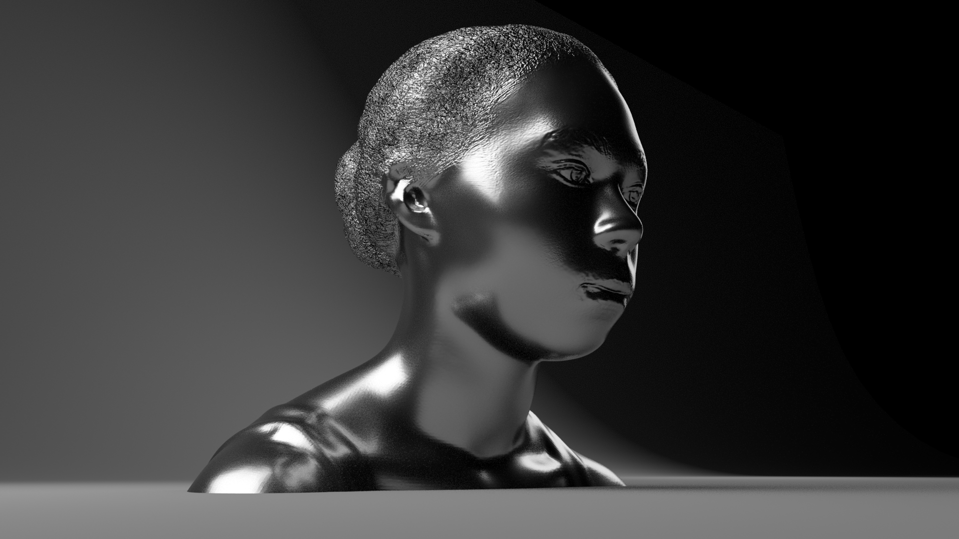 Head Modeling Study (Sculpting)