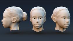 Head Modeling Study (Maya)
