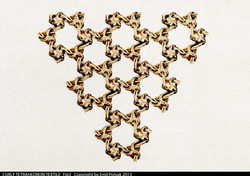 Curly tetrahedron repetition