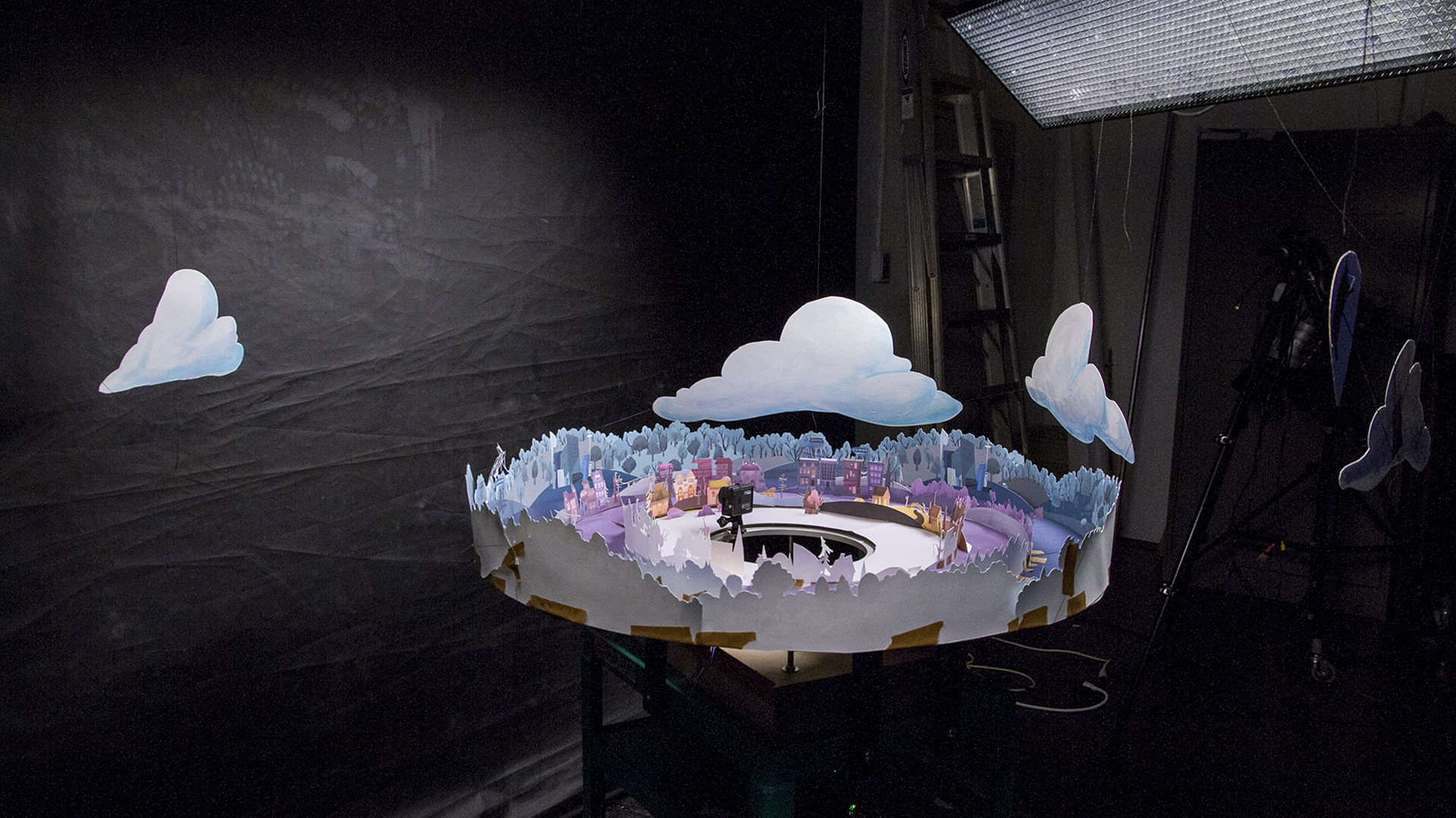 Paper Town VR set