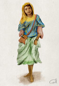 Moorish girl 2