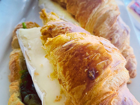 Brie cheese Croissants