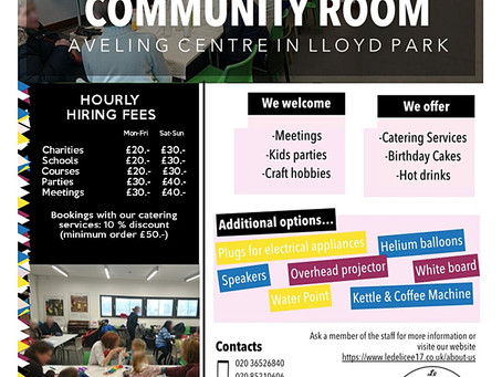 Community Room Hire